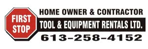 First Stop Tool & Equipment Rentals